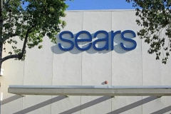 Sears Channel Letter Sign, Bakersfield, CA